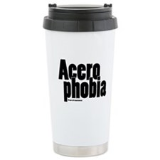 Acerophobia Travel Coffee Mug