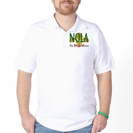 NOLA Fleur D'Lis Golf Shirt