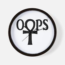 Lost TV Eternal OOPS Ankh Wall Clock