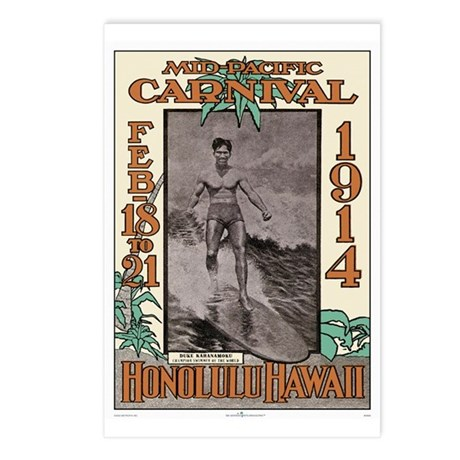 The Duke Hawaii's #1 Surfer Postcards (Package of