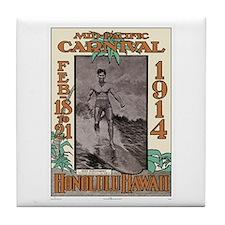 The Duke Hawaii's #1 Surfer Tile Coaster