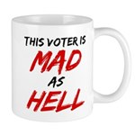 MAD AS HELL b Mug