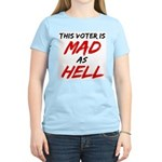 MAD AS HELL b Women's Light T-Shirt
