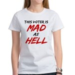 MAD AS HELL b Women's T-Shirt