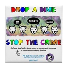 Drop A Dime Tile Coaster