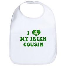 I Love My Irish Cousin Bib