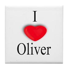 Oliver Tile Coaster