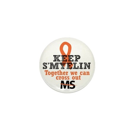 MS/Multiple Sclerosis Mini Button (10 pack)