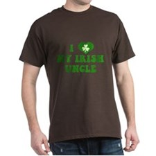 I Love My Irish Uncle T-Shirt