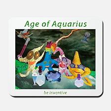 Age of Aquarius Mousepad