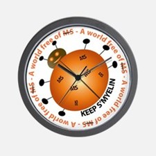 Cute Health and health conditions Wall Clock