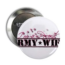 "Cute Army wife 2.25"" Button (10 pack)"