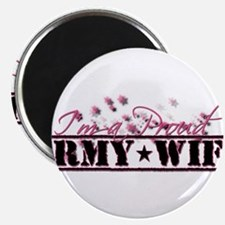 Cute Proud army wife Magnet