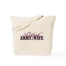 Cute Army wife Tote Bag