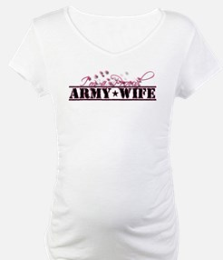 Funny Military wife Shirt