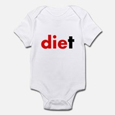 die diet Infant Bodysuit