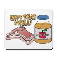 Pork Chops and Applesauce Mousepad