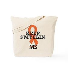 MS/Multiple Sclerosis Tote Bag