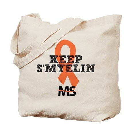 MS/Multiple Sclerosis Tote Bag