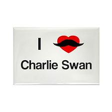 charlie swan Magnets