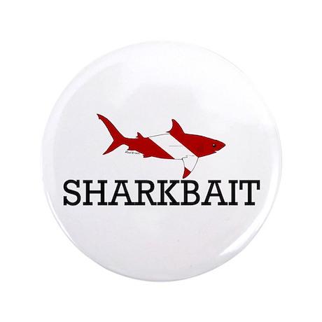 """Sharkbait 3.5"""" Button"""