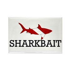 Sharkbait Rectangle Magnet