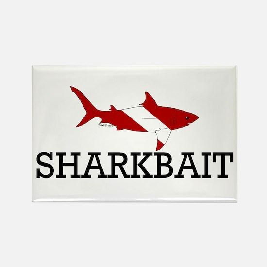Sharkbait Rectangle Magnet