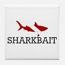 Sharkbait Tile Coaster