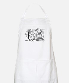 Leave Nothing but Footprints Apron