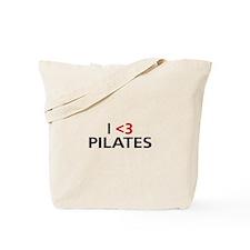 I <3 Pilates Tote Bag