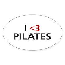 I <3 Pilates Decal