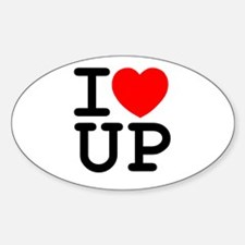 I <3 UP - Decal