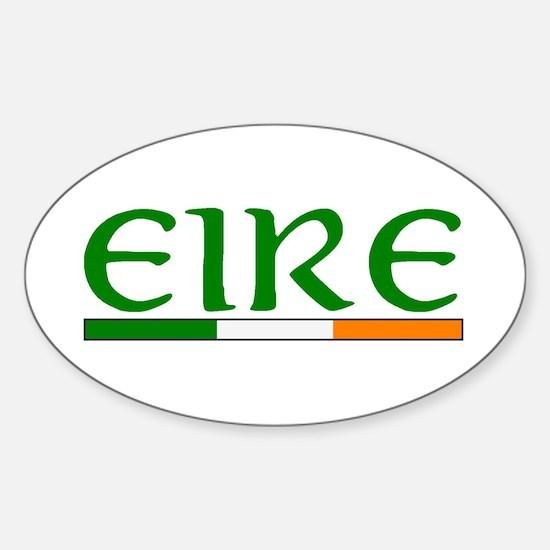 EIRE Sticker (Oval)