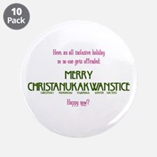"""New Holiday 3.5"""" Button (10 pack)"""
