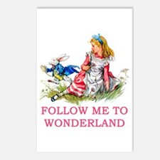 ALICE - Follow Me To Wond Postcards (Package of 8)