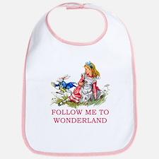 ALICE - Follow Me To Wonderland Bib