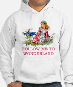 ALICE - Follow Me To Wonderland Hoodie Sweatshirt