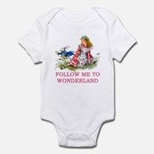 ALICE - Follow Me To Wonderland Infant Bodysuit