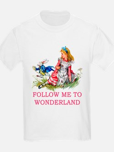 ALICE - Follow Me To Wonderland T-Shirt