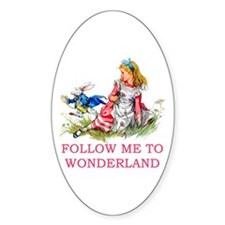 ALICE - Follow Me To Wonderland Decal