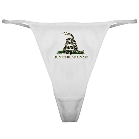Don't Tread On Me - Classic Thong