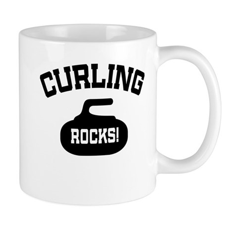 Curling Rocks! Mug