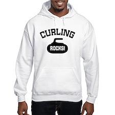 Curling Rocks! Hoodie Sweatshirt