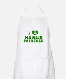 I Love Mashed Potatoes Apron