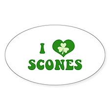 I Love Scones Decal