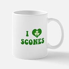 I Love Scones Mug