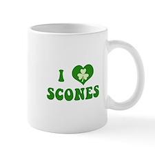 I Love Scones Small Mug