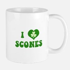 I Love Scones Small Small Mug