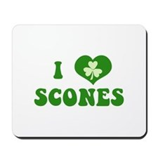 I Love Scones Mousepad