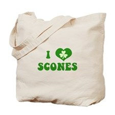 I Love Scones Tote Bag